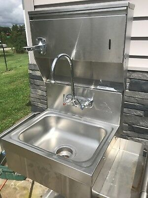 Commercial Wall Hand Washing Station-Sparkle- Stainless Steel