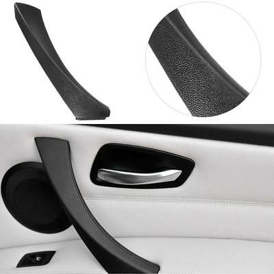 Right Side Inner Door Panel Handle Pull Trim Cover for BMW E90 E91 ABS Black