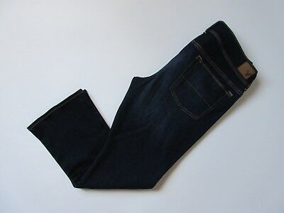 NWT American Eagle Outfitters Kick Boot in Midnight Dark Stretch Jeans 14s x 29