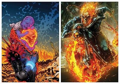 Cosmic Ghost Rider #4 Cover A & Maxx Lim Battle Lines Variant Pre-Sale 2018