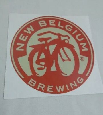 Lot Of 10 NEW BELGIUM BREWERY BEER STICKERS Colorado Brew Brewing CO. Fat Tire