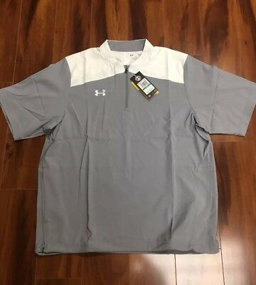 73a06717114b2 UNDER ARMOUR TRIUMPH Cage 1 4 Zip Pullover Mens Large -  51.55 ...