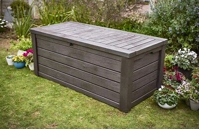 Extra Large Outdoor Storage Box Heavy Duty Swimming Pool Deck Bench