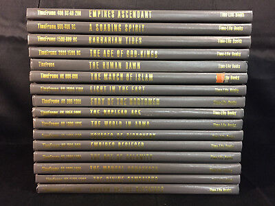 TimeFrame, Time Life, 16 Volumes, 3000 BC - AD 1500, AD 1900 - AD 1990,Hardcover