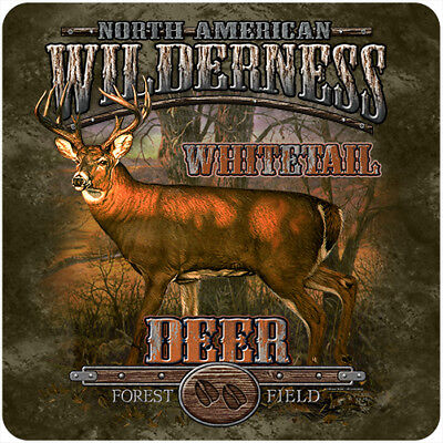 Whitetail Wilderness  Novelty Sign | Funny Home Décor Garage Wall Plastic Gag Gi