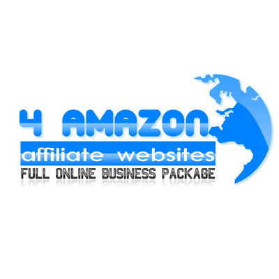 4 Amazon Affiliate Businesses +  Free Hosting +  500,000 backlinks for each site
