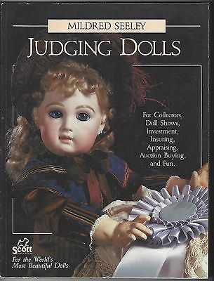 """judging Dolls""antique Reproduction-Art/seeley Reference-Appraise-Picture Book"