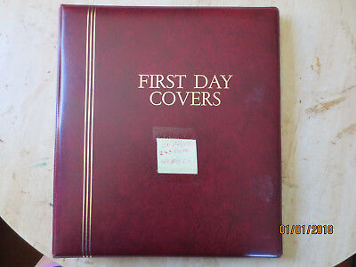 No-38 - FDC  ALBUM  20  PAGES  WITH  44  FDC'S---GOOD ORDER