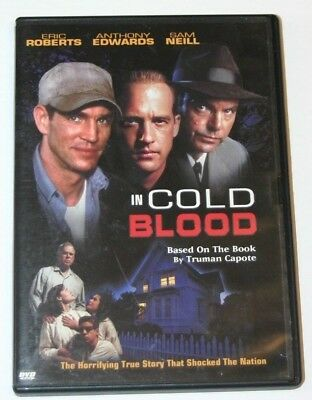 In Cold Blood DVD.  Eric Roberts, Anthony Edwards, Sam Neill.  Truman Capote.