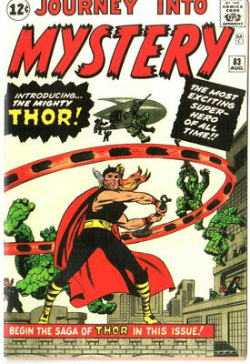 Journey Into The Mystery 83 Custom Made Cover w/ 1964 REPRINT 1st Thor