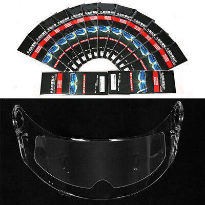 Universal Clear Anti-fog Lens Film Transparent Patch For Motorcycle Helmet