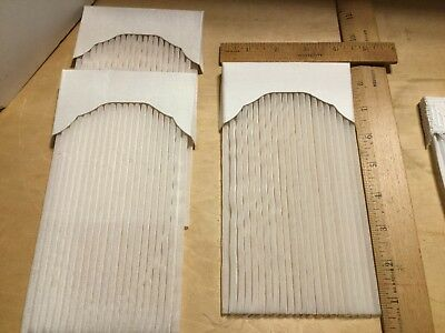 NOS white silk valence w/white shears,listing is for single curtain,C-14