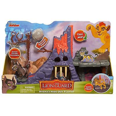 NEW Disney Junior Lion King The Lion Guard Hyena's Hideout Playset Just Play