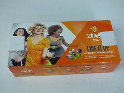 Sumba fitness  Gold DANCE DVD Set MISSING ONE CD SEE LISTING RRP £39.99