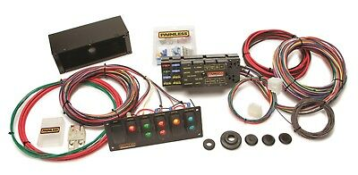 Painless Wiring Race Only Chassis Harness w/Switch Panels-10 Circuits