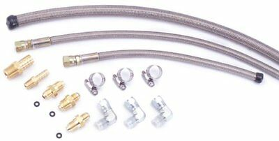 Flaming River Stainless Braided Hose Kit - Remote Reservoir (GM)