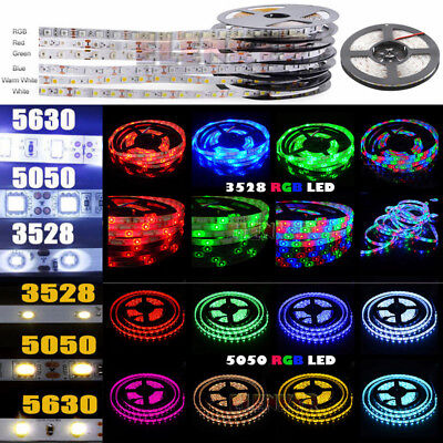 Wholesale 3528 5050 5M/10M/15M/20M RGB SMD LED Roll Strip Light 12V Waterproof