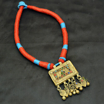 Real Afghani Necklace Authentic Vintage Jewelry Ethnic Tribal Antique Diwali