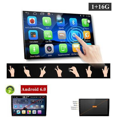"""10.1""""Touch Quad-Core 4G WIFI 2Din Car Stereo Radio No-DVD Player 4G WIFI GPS"""