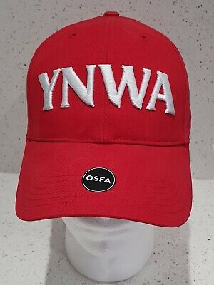 Official Liverpool FC Red  YNWA 3D Baseball Cap - Brand 47