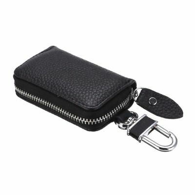 Universal Zipper Car Pu Leather Key Chain Holder Wallet Fob Case Cover Bag New