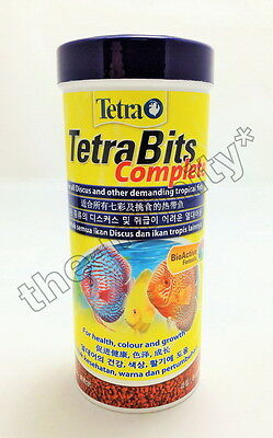93g Tetra Bits Complete Discus Tropical Fish Food Color Growth Aquarium Pellets