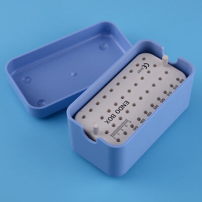 Dental Endodontic 40 Holes Autoclavable Sterilising Box Tray Holder Stand