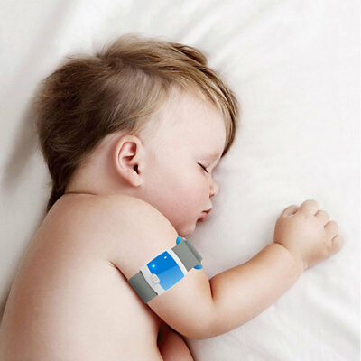 Bluetooth 4.0 Remote Children Wearable Monitoring Smart Body Infant  Thermometer