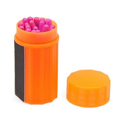 20x Portable Windproof Matches Emergency Survival Tool Outdoor Camping Supplies