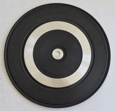 Dual 1225 Turntable Mat and Center Piece, May Fit Other Models