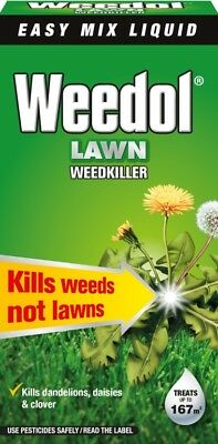 Weedol Lawn Weedkiller Concentrate 1L