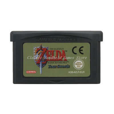 The Legend of Zelda A Link to the Past and Four Swords GBA Game Boy Advance