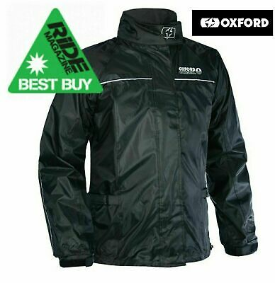 Oxford Rainseal Waterproof All Weather Over Jacket Motorcycle Motorbike New