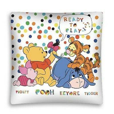 NEW DISNEY WINNIE THE POOH Tigger Piglet Eeyore cushion cover 40x40cm