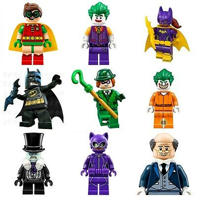 Batman Joker Penguin Robin Movie Super Hero lego Mini Figures Riddler Penguin