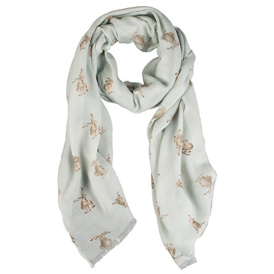 Wrendale Designs Scarf Leaping Hare Scarf