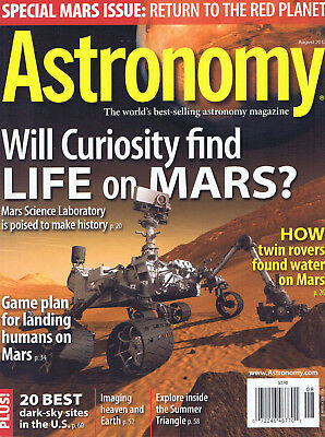 ASTRONOMY. Best selling astronomy magazine. Vol 40 Issue 8. August 2012