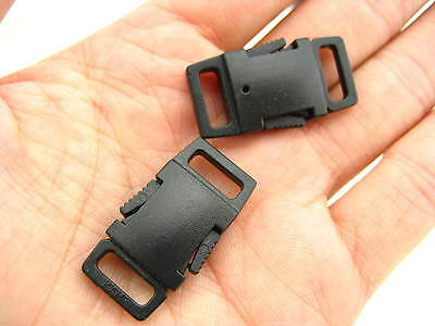20pcs KAM quality plastic small Delrin Side Release Buckles Clips for neck strap