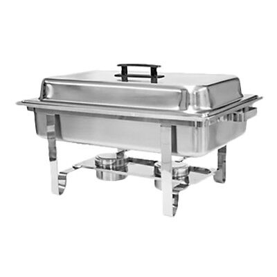 Thunder Group SLRCF001 8 Qt Stainless Steel Welded Full Size Economy Chafer