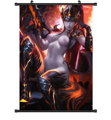 "Hot Anime Game Overwatch Sexy Widowmaker Decor Poster Wall Scroll 8""x12"" P210"