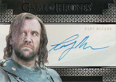 Game of Thrones Season 7, Rory McCann 'The Hound' Autograph Card