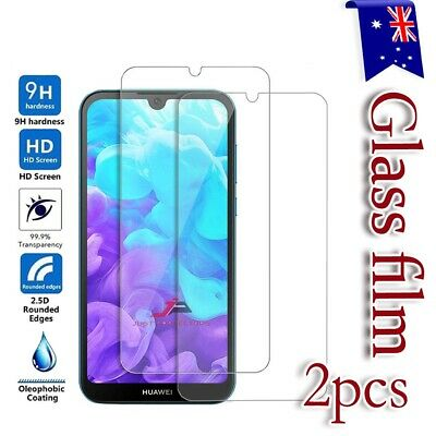 2x Huawei Y5 2018 | Y6 2018 Tempered Glass Screen Protector LCD Film Guard