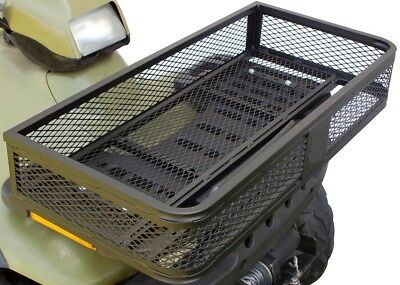 ATV FRONT MOUNTED BASKET HEAVY DUTY - Mesh Black For Quad Bike Tools