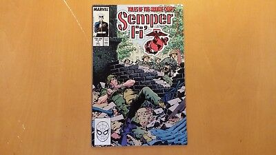1988 Marvel Comics Tales Of The Marine Corps Semper Fi #1 Vf/nm Flat Rate S/h