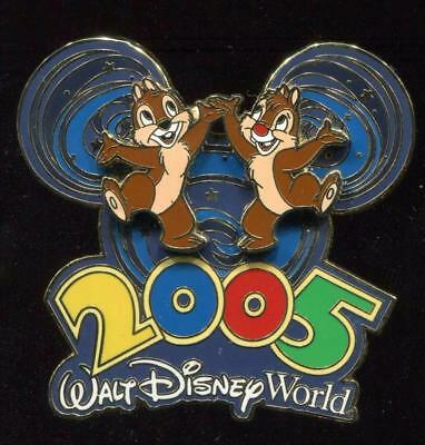 WDW 2005 Collection Chip 'n' Dale Disney Pin 33958