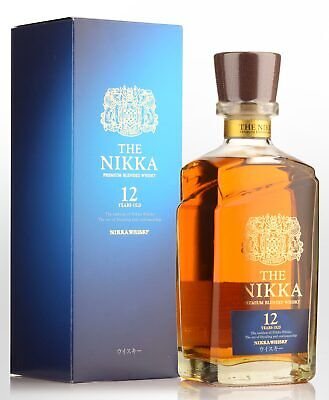 Nikka 12 Year Old Blended Japanese Whisky (700ml)