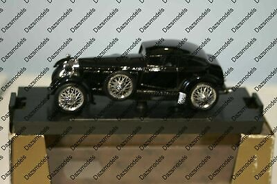 Brumm Bentley Speed Six 1928 Black HP160 1:43 Diecast R185