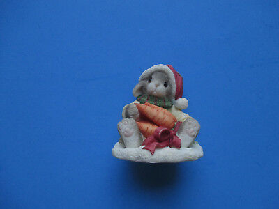 """1996 My Blushing Bunnies Always Count Your Blessings 2 3/4"""" Tall"""