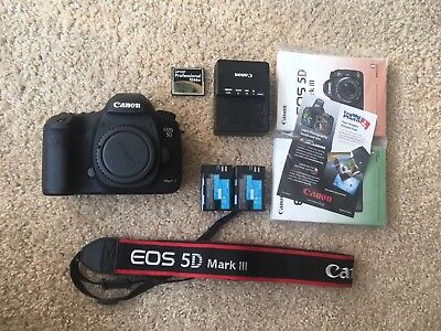 Pre-Owned Canon EOS 5D Mark III 22.3MP Digital SLR Camera (Body Only) DSLR