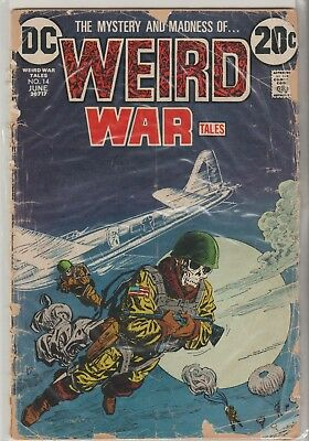 Weird War Tales Comics #'s Range From 14 To 115 See List For 1.49 Each